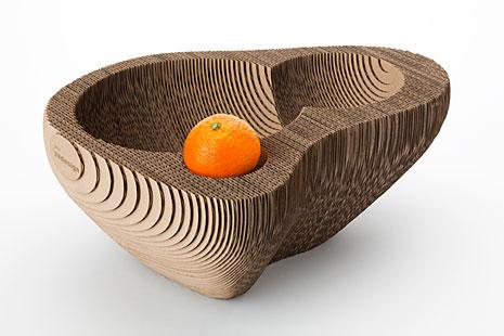 Semdesign fruitschaal 128 karton for Karton design